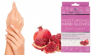 Skin Academy Moisturising Hand Gloves 1 Treatment