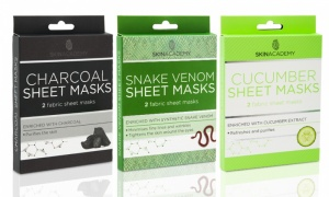 Skin Academy Face Sheet Masks