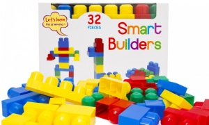 Let's Learn 32pcs Smart Builders
