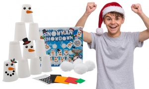 Snowman Showdown Pyramid Challenge Game