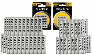 Sony AA & AAA Batteries Bulk Pack