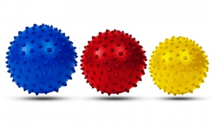 3 x Spikey Massage Balls