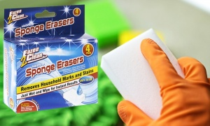 4 pack of Magic Cleaning Sponges