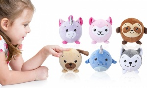 3.5 Inch Squishimi Plush Scented Balls Series 4
