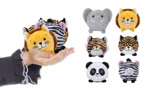 3.5'' Squishimi Plush with 6 Assorted  Zoo Animal Series 5