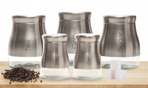 Sabichi Stainless Steel Canisters
