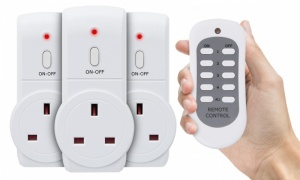 Status Remote Control Socket(Pack Of 3)