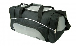 Holdall Bag with an Adjustable Shoulder Strap and side Pockets