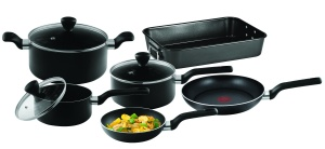 Tefal Admire 9 Piece Cookware Set