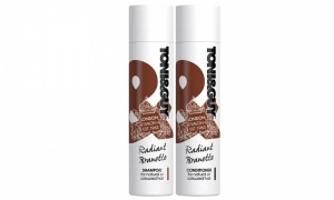 TONI&GUY RADIANT BRUNETTE SHAMPOO & CONDITIONER 250ml