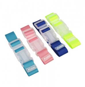 TRAVEL  BAG CLIP - ASSORTED COLOURS