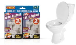 Toilet Cleaner Tablets 6 Piece