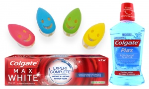 Toothbrush holder and Colgate Bundle