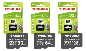 Toshiba M203 MicroSD Class 10 U1 100MB/s with Adapter