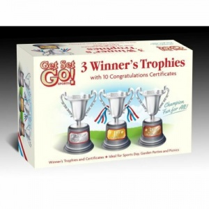 Trophies & Certificate Set