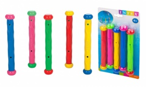 Intex Set Of 5 Underwater Play Sticks