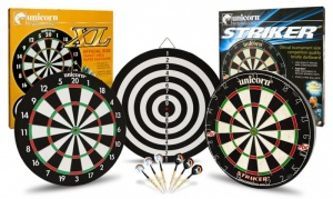 Striker Bristle Dartboard or XL Paper coil dartboard