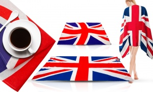 Union Jack Design Towels