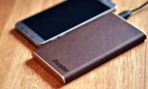 Energizer10000mAh PowerBank Brown Leather