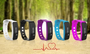 BaS-TeK V5S Fitness Tracker with HRM