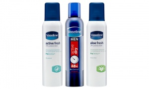 3x Vaseline  Anti-Perspirant 150ml