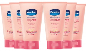 Pack Of  6 Vaseline Lotion 75ml Hand & Nail Creams