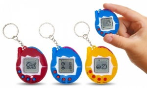 49 in 1 Electronic cyber Pet Game With keychain Function