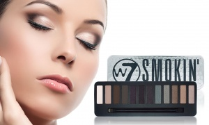 W7 Smoking Eye Colour Palette 12 Shades