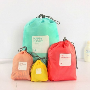 Waterproof Travel Drawstring 4pc set
