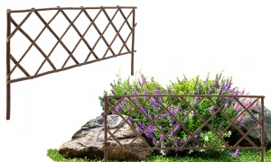 Willow Lattice Border Fence