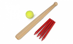Tobar Wooden Rounders Set