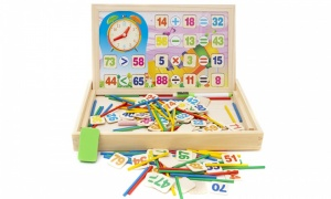 Doodle Wooden Mathematics Early Learning Counting Educational Toy
