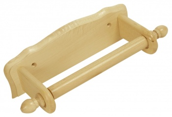 Apollo Wall Mounted Wooden Kitchen Towel Holder