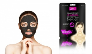 Black Tissue Charcoal Detox Facial Mask