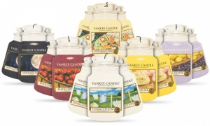 Yankee Candle Car Air Freshener Jar Bonus Pack of 3