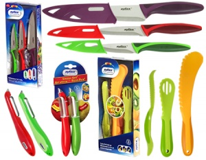 Zyliss Set of 8 Coloured Kitchen Tools