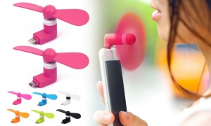 Mini USB Fan for Smartphones