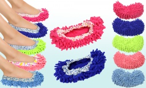 Microfibre Cleaning Slippers - Available in Two Sizes