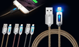 1m AQ Light Up Charge and Sync Cable