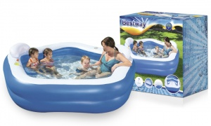 Best way Swimming Pool- Rectangle With Pump