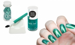 Nail inc - Bling it on emerald
