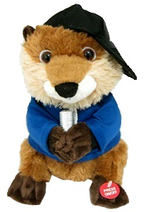 'Justin Beaver' Animated Singing Beaver