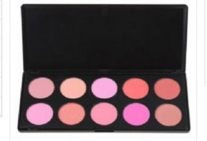 Blush Palette, Lip Palette, 88 Colour Palette And 5 Piece Brush Set