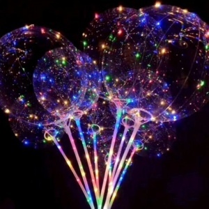 Magical LED Light Up balloons With Stick