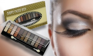 12 Colour Eye Shadow Palette - Available in Two Colour Sets