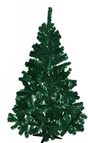 Traditional 7 Ft Christmas Tree - Assorted Colours