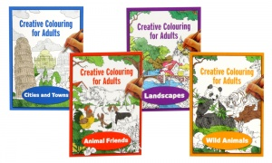 Creative Colouring for Adults Assorted