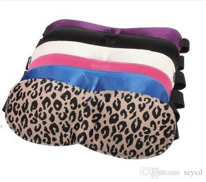 3D Sleep Mask - Available in assorted colours