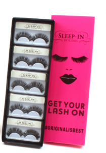 'Get Your Lashes On' Gift Set Of 10 False Eye Lashes