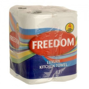 Freedom Kitchen Towels 2Ply Pack of 24 Rolls